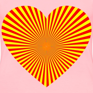 Starburst Heart 21 - Women's Premium T-Shirt