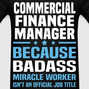 Commercial Finance Manager Tshirt - Men's T-Shirt