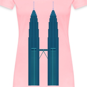 Petronas Twin Towers - Women's Premium T-Shirt