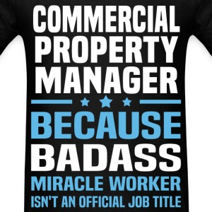 Commercial Property Manager Tshirt - Men's T-Shirt