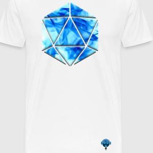 DnD - D20 Flame - Men's Premium T-Shirt