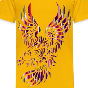 Chromatic Tribal Eagle 2 12 No Background - Kids' Premium T-Shirt
