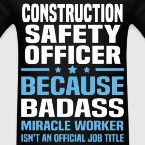 Construction Safety Officer Tshirt - Men's T-Shirt
