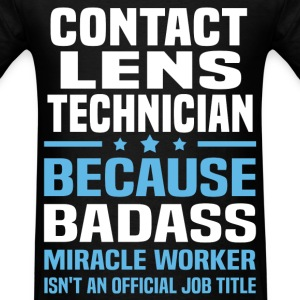 Contact Lens Technician Tshirt - Men's T-Shirt