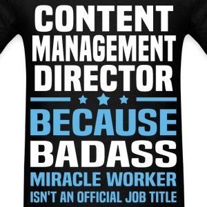 Content Management Director Tshirt - Men's T-Shirt