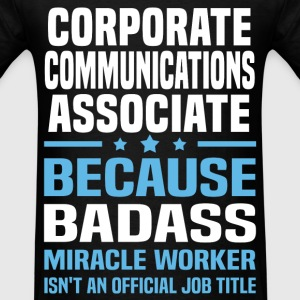 Corporate Communications Associate Tshirt - Men's T-Shirt