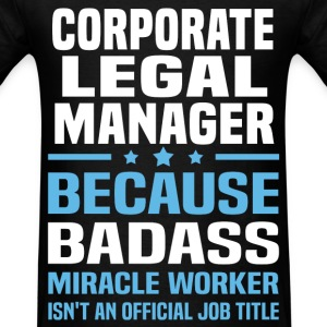 Corporate Legal Manager Tshirt - Men's T-Shirt
