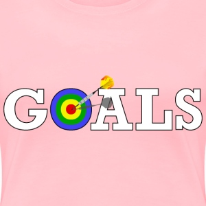 Reaching Goals - Women's Premium T-Shirt