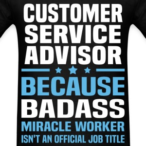 Customer Service Advisor Tshirt - Men's T-Shirt
