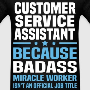 Customer Service Assistant Tshirt - Men's T-Shirt