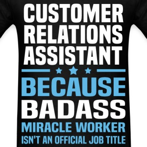 Customer Relations Assistant Tshirt - Men's T-Shirt