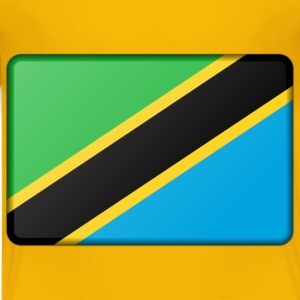 Tanzania flag (bevelled) - Kids' Premium T-Shirt