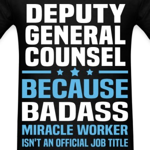 Deputy General Counsel Tshirt - Men's T-Shirt