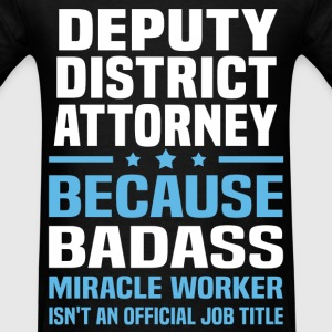 Deputy District Attorney Tshirt - Men's T-Shirt
