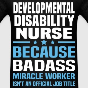 Developmental Disability Nurse Tshirt - Men's T-Shirt