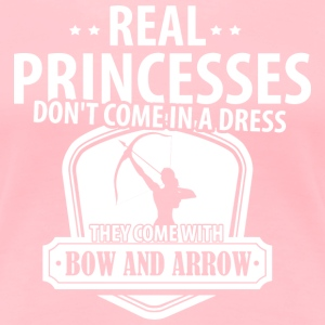 Real Princesses Archer T-Shirts - Women's Premium T-Shirt