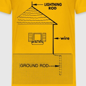 Lightning rod - Kids' Premium T-Shirt