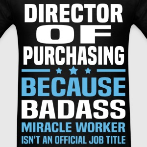 Director of Purchasing Tshirt - Men's T-Shirt