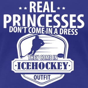 Real Princesses Icehockey T-Shirts - Women's Premium T-Shirt