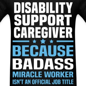Disability Support Caregiver Tshirt - Men's T-Shirt