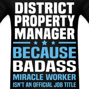 District Property Manager Tshirt - Men's T-Shirt