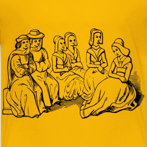 15th century chinwaggers - Kids' Premium T-Shirt