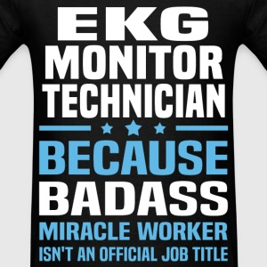EKG Monitor Technician Tshirt - Men's T-Shirt