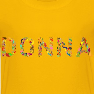 Donna Typography - Kids' Premium T-Shirt