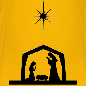 Nativity Silhouette - Kids' Premium T-Shirt