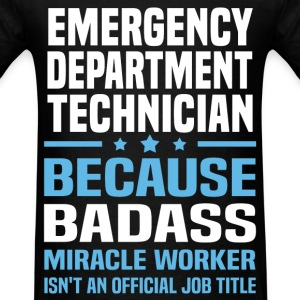 Emergency Department Technician Tshirt - Men's T-Shirt