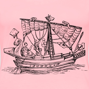 Sailing ship 6 - Women's Premium T-Shirt