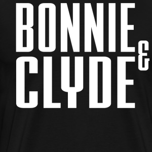 Bonnie And Clyde T-Shirts - Men's Premium T-Shirt