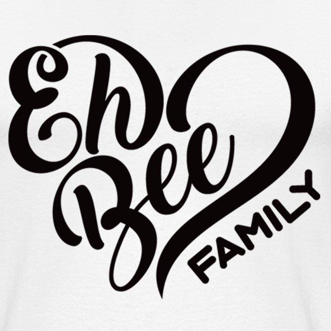 Eh Bee Family Baseball Top