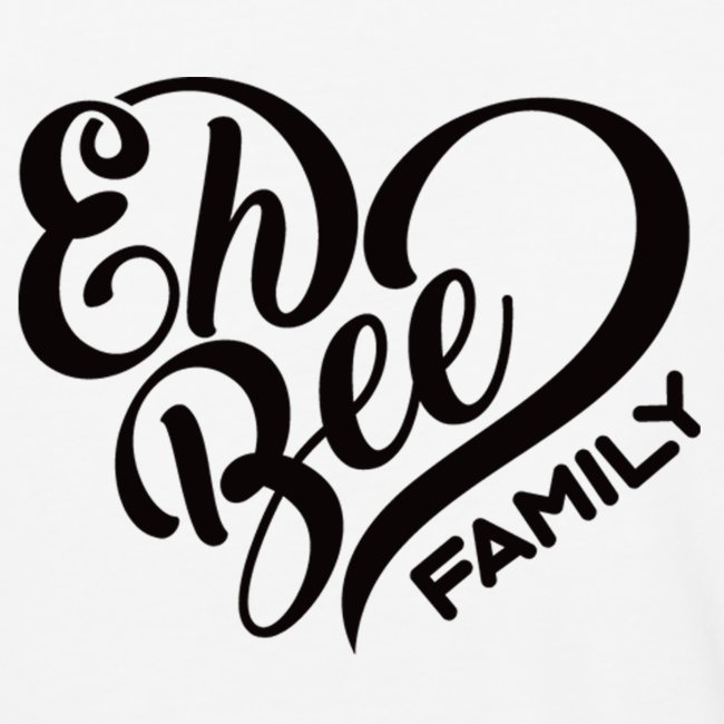 Eh Bee Family Baseball Top