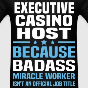 Executive Casino Host Tshirt - Men's T-Shirt