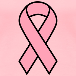 Pink Breast Cancer Ribbon - Women's Premium T-Shirt
