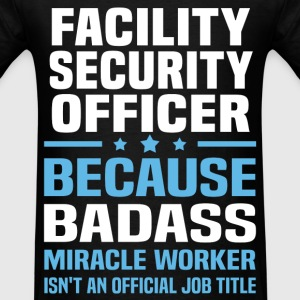 Facility Security Officer Tshirt - Men's T-Shirt