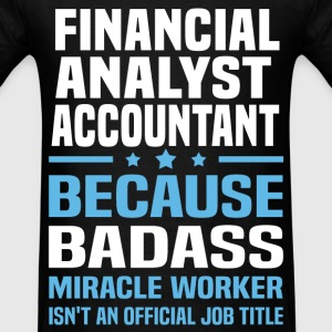 Financial Analyst Accountant Tshirt - Men's T-Shirt