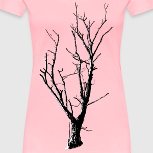 Dead Tree Detailed - Women's Premium T-Shirt