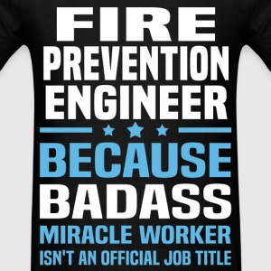 Fire Prevention Engineer Tshirt - Men's T-Shirt