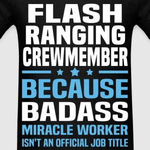 Flash Ranging Crewmember Tshirt - Men's T-Shirt
