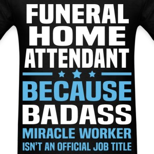 Funeral Home Attendant Tshirt - Men's T-Shirt