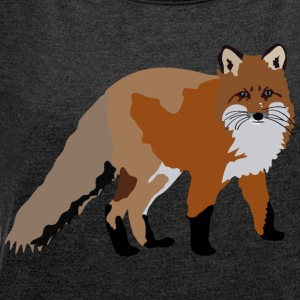 fox T-Shirts - Women´s Rolled Sleeve Boxy T-Shirt