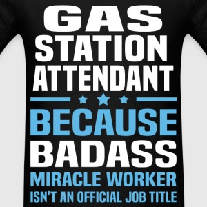 Gas Station Attendant Tshirt - Men's T-Shirt