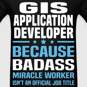 GIS Application Developer Tshirt - Men's T-Shirt
