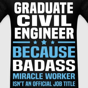 Graduate Civil Engineer Tshirt - Men's T-Shirt