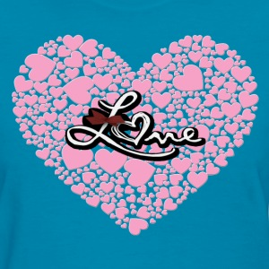 Heart of Love - Women's T-Shirt