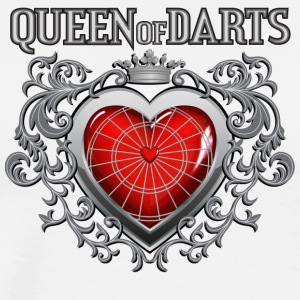 Queen of Darts - Men's Premium T-Shirt
