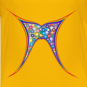 Abstract Rainbow Butterfly - Kids' Premium T-Shirt