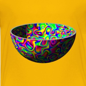 Colourful bowl - Kids' Premium T-Shirt